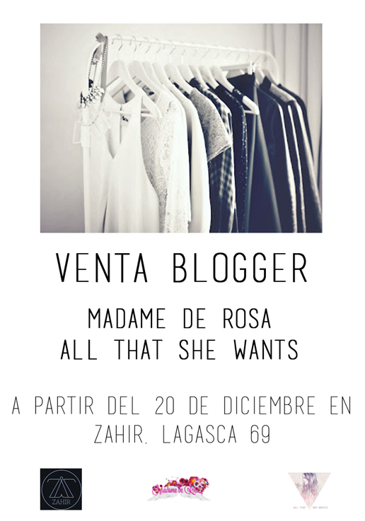 cartel venta blogger